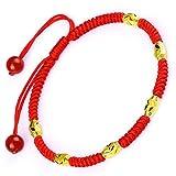 Best Bracelet For Unisexes - Be Nice Handmade Unisex Kabbalah Red String Bracelet Review