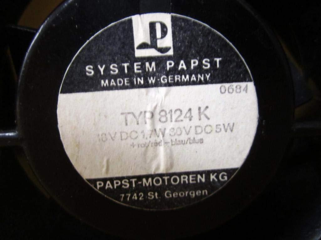 Papst TYP8124K DC Axial Fan