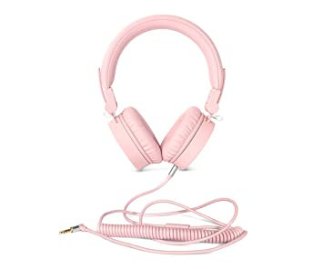 Fresh n Rebel Caps Headphones Cupcake - Auriculares On-ear para cable - Rosa