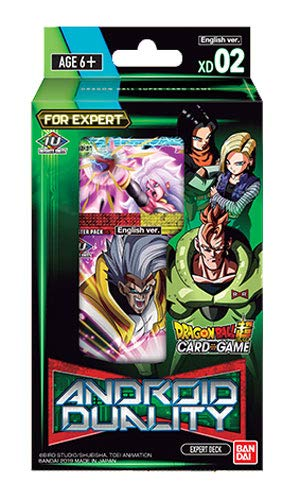 Dragon Ball Super Series 8 Android Duality Expert Deck 02 (Dragon Ball Super Card Game Vegito Blue)
