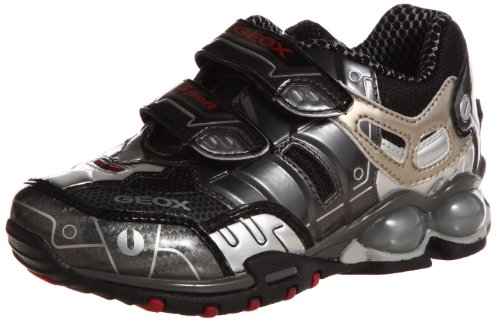 Geox JR FIGHTER 2 J24A8M0CE11C0673 - Zapatos para niño gris - antracita