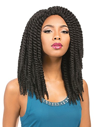 [Sensationnel African Collection Crochet Wig RUMBA TWIST BRAID (1)] (Cornrow Wigs)