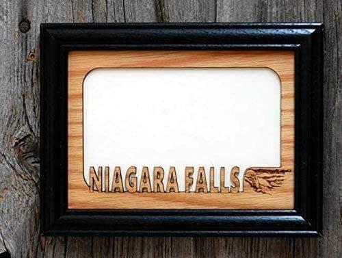 Amazon Com Niagara Falls Picture Frame Holds 4x6 Photo Handmade