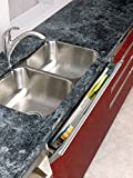 Tip-Out Tray Slim Stainless Steel with Hinges Sink & Base Accessories - 6541-31-52 - 31''W x 1-11/16''D x 3''H - Stainless Steel