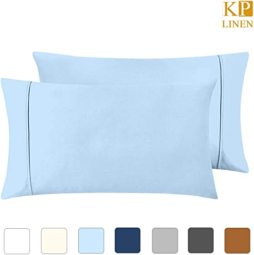 Branded* 2 Qty Pillow Case 1000 Thread Count Pima Cotton White Solid