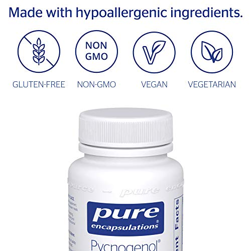 Pure Encapsulations - Pycnogenol 50 mg - Hypoallergenic Supplement to Promote Vascular Health and Provide Antioxidant Support - 120 Capsules by Pure Encapsulations (Image #3)