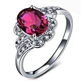 Kardy Antique Vintage 14k White Gold South Africa Diamond Natural Tourmaline Gems Valentine's Day Gift Ring