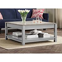 Gardens Langley Bay Coffee Table, Gray/Sonoma Oak