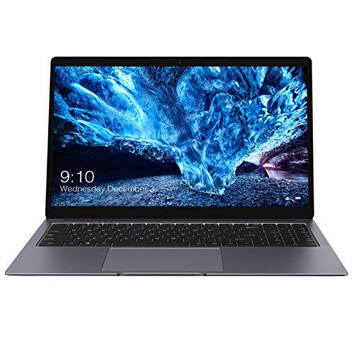 CHUWI LapBook Plus 15.6'' Windows 10 Laptop Computer, 4K Display, Intel Atom X7-E3950 Quad Core, 8GB RAM, 256GB SSD Storage, Dual M.2 SSD Slots, Dual WiFi 2.4GHz/5.0GHz