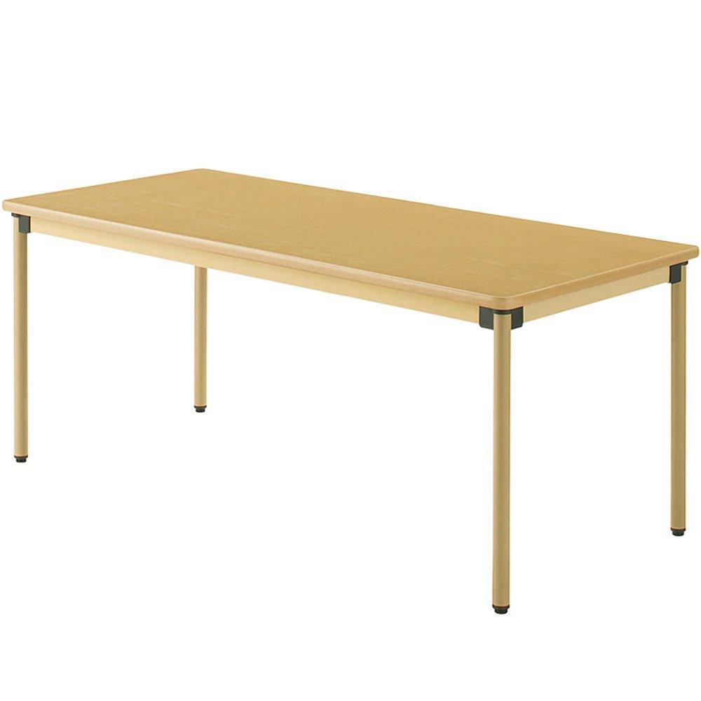 タック ダイニングテーブル メープル色 幅180×奥75×高さ70cm 業務用 UFTST1875 B07BMYP7J4