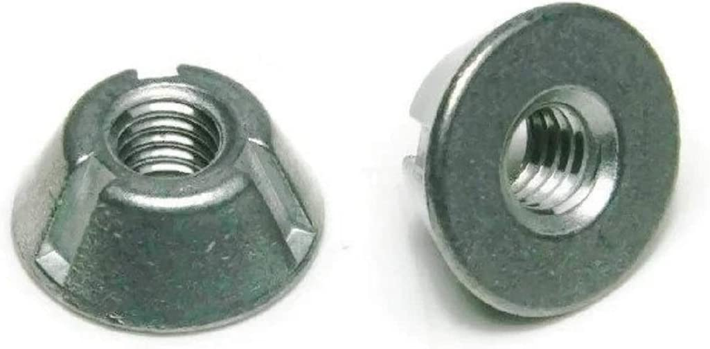 Qty 25 Tri-Groove Tamper Proof Security Nuts 316 Stainless Steel 3//8-16