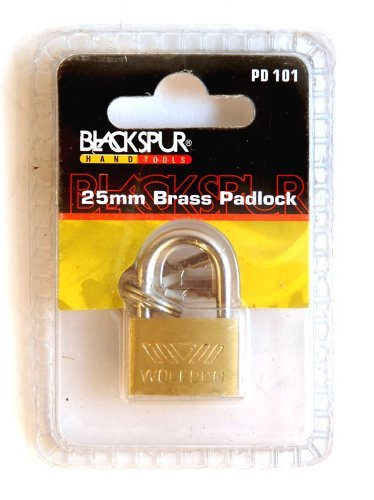 Blackspur Bb-pd101 Brass Padlock