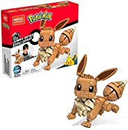 Mega Construx Pokemon Jumbo Eevee Construction Set with Character Figures, Building Toys for Kids (830 Pieces)