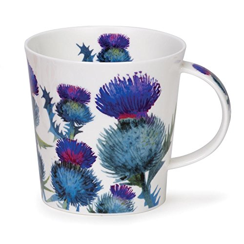 Thistle Ceramic (Dunoon Cairngorm Scottish Thistles Fine China Mug Cup 480ml 16.23 fl oz)