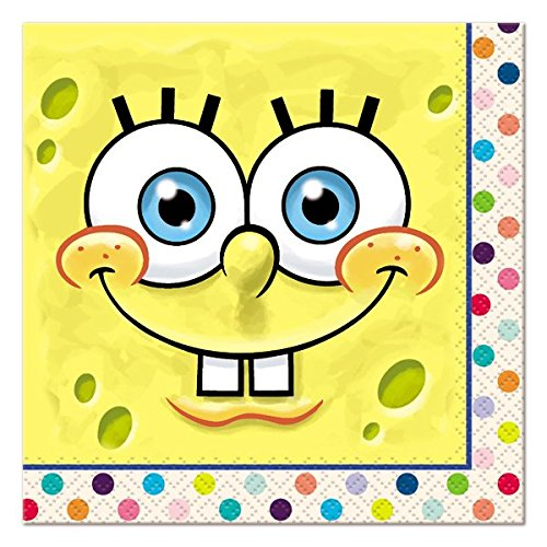 Mayflower Distributing 63975 SPONGEBOB - BEVERAGE NAPKIN