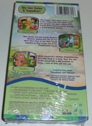 Dragon Tales - We Can Solve It Together [VHS]