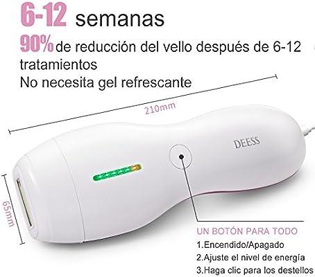 Sistema de Depilación por Luz Pulsada Intensa (IPL), Dispositivo ...