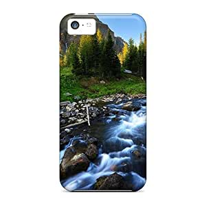 fenglinlinProtective Cases With Fashion Design For ipod touch 4 (beautiful River Stream)