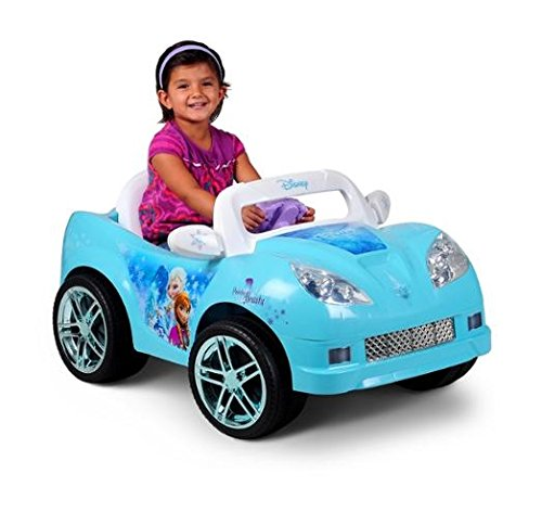 Disney Frozen Convertible Car 6-Volt Battery-Powered (6 Speed Convertible)
