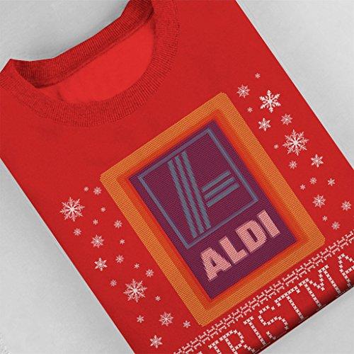 battery Red Jumper t48wR1 Christmas Aldi Women's Sweatshirt Coto7 x40fPBwa