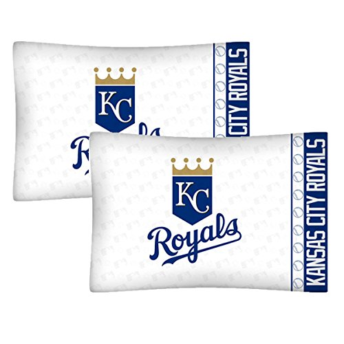 - Set of 2 MLB Kansas City Royals Pillowcases Baseball Team Logo Bedding Pillow Covers