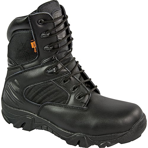 Highlander Echo Tactical Boots Black Leather SWAT Forces Military Special Ops Black mBhhedX