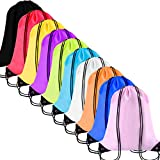 Paxcoo Cinch Sack Drawstring Backpack String Sinch Tote Nap Bag for Kids Gym