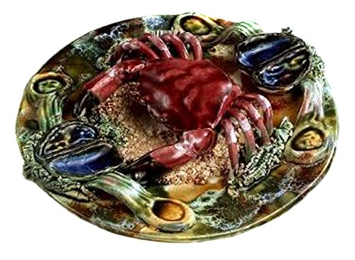 Sadek Retired J. Willfred Decorative Crab Plate to for sale  Delivered anywhere in USA