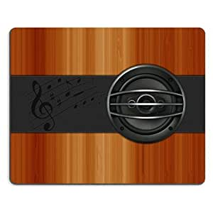 Pattern Wooden Guitar Mouse Pads Customized Made to Order Support Ready 9 7/8 Inch (250mm) X 7 7/8 Inch (200mm) X 1/16 Inch (2mm) High Quality Eco Friendly Cloth with Neoprene Rubber Liil Mouse Pad Desktop Mousepad Laptop Mousepads Comfortable Computer Mouse Mat Cute Gaming Mouse_pad