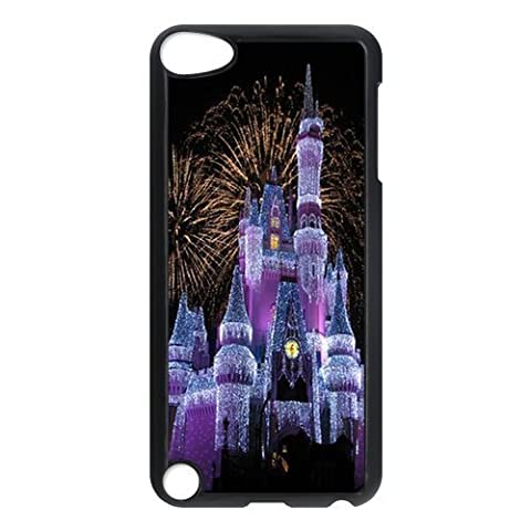 Fairytale Castle Snap-on Hard Back Case for iPod Touch 5 5th Gen,Waterproof Hard Plastic Cover Phone Case For Ipod Touch 5,Fairytale Castle Case Cover Protector for iPod Touch 5/5th Generation (Frozen Ipod Cases 5th Generation)