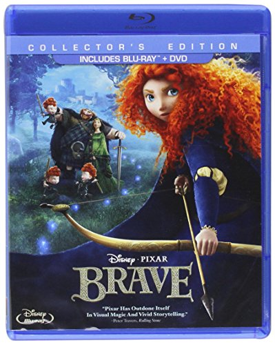 Brave (Three-Disc Collector's Edition: Blu-ray / DVD) (Princess Disney Movies Blue Ray)
