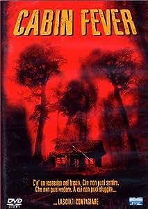 cabin fever dvd Italian Import