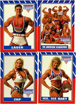 American Gladiators Zapped! Powerball #4 Single Trading Card