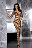 Sexy Fishnet Open Crotch Corest Bodystocking Bodysuit Tights Lingerie