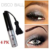 (Pack of 4) - NYX Candy Glitter Liner, 17 Disco Ball