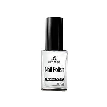 Amazon.com: Miss Moda Natural Non-Toxic Water Based Nail Polish ...