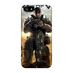 Special Ottercase Skin Case Cover For Iphone 5/5s, Popular 2011 Gears Of War 3 Phone Case