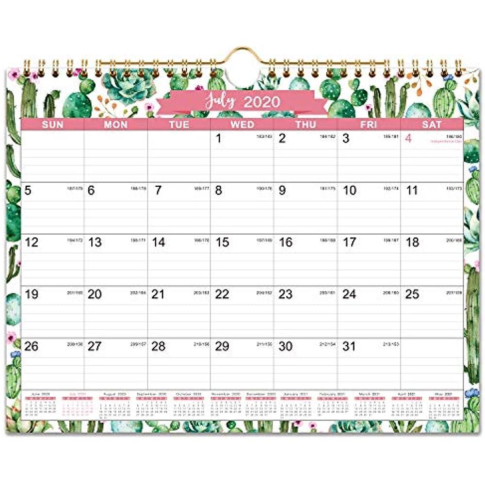 2020-2021 Calendar 18 Monthly Wall Calendar, 11 X 8.5, Jul ...