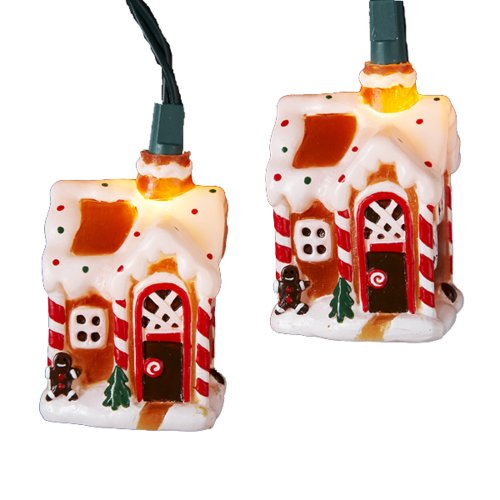 Gingerbread House Lights Outdoor