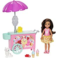 Barbie Chelsea Pet Accessory Ice Cream Cart Playset