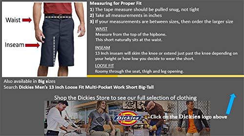 black Cortos Negro Dickies Para Hombre Pantalones y0fwqP6