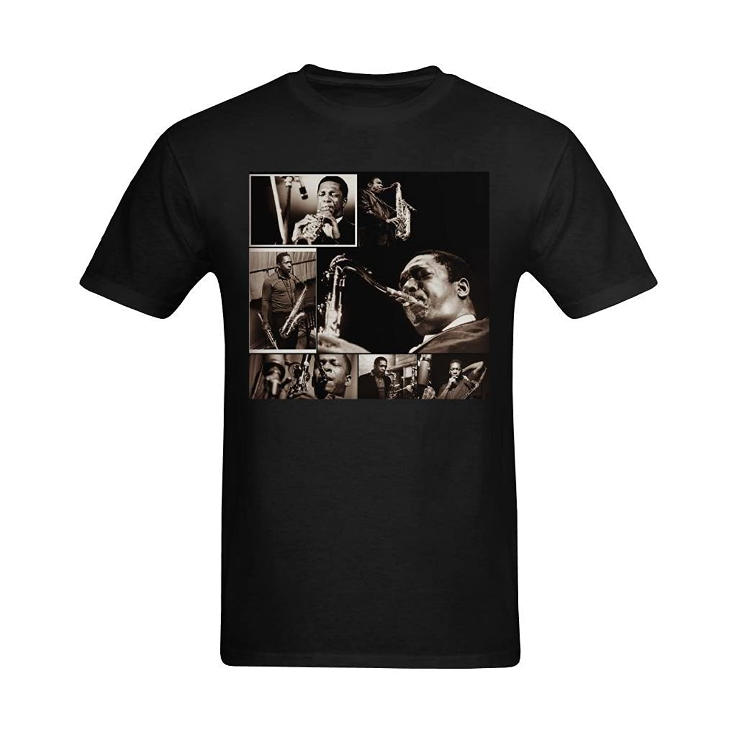 NeloimageMen John Coltrane Acting Series Image Design T-Shirt