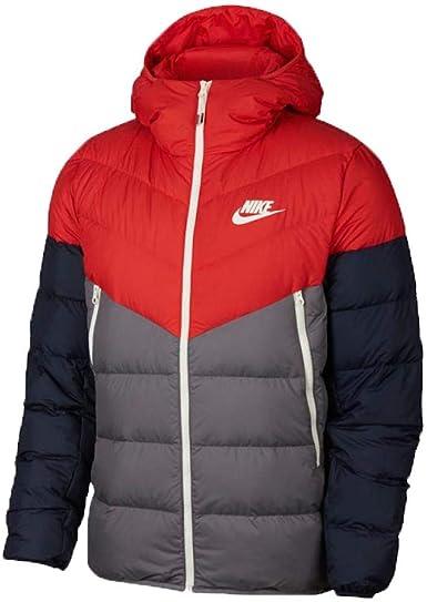 NIKE Men's Sportswear Windrunner Down Fill Hooded Jacket