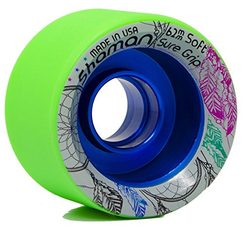 Sure-Grip Shaman Wheels - green 93A Hardness by Sure-Grip