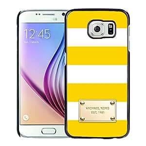 Genuine Custom Protective Phone Case Michael Kors 84 Black Samsung Galaxy S6 G9200 Phone Cover Case