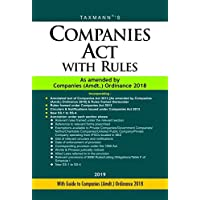 Companies Act with Rules-As Amended by Companies (Amdt.) Ordinance 2018 (Paperback Pocket - 2019 Edition)