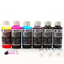 BCH® Premium 600 ml Refill Ink Kit for HP, Canon, Epson, Lexmark, Dell and Brother Printers. Especially compatible to HP 8500 8600 920 XL, 564 XL.