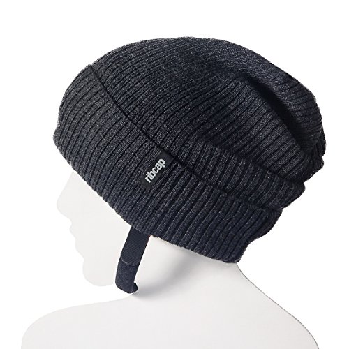 Nfl Scarves Shop (The all new premium original Lenny Anthracite Small Ribcap, Impact resistance, extra protective beanie cap)