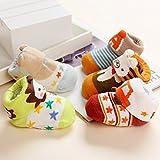 Fly-love® 5pairs Animal Non-Skid Slip Toddler
