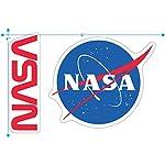 NASA Retro Vintage Space Shuttle T Shirt & Stickers